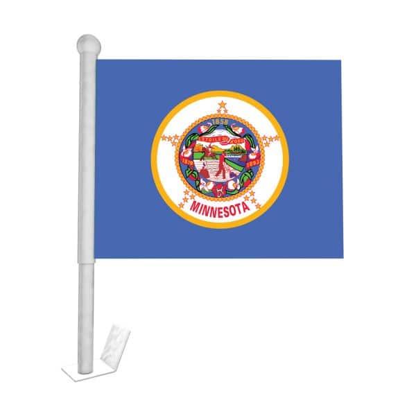 minnesota state car flag