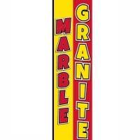Marble Granite Rectangle Flag