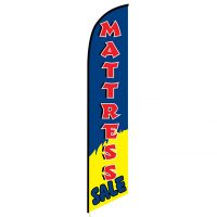 Mattress Sale blue banner flag