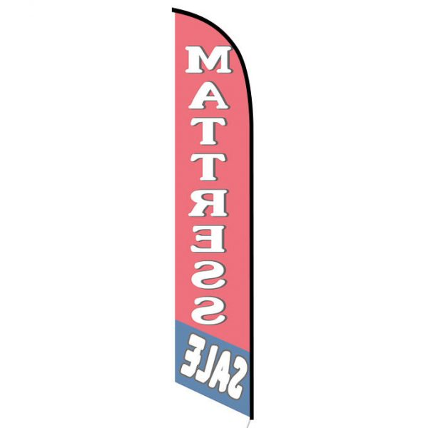 Mattress sale feather flag