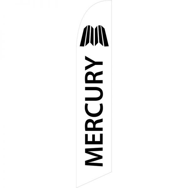 Mercury Feather Flag