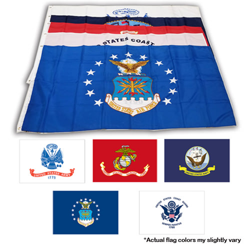 Military flags 5 pack