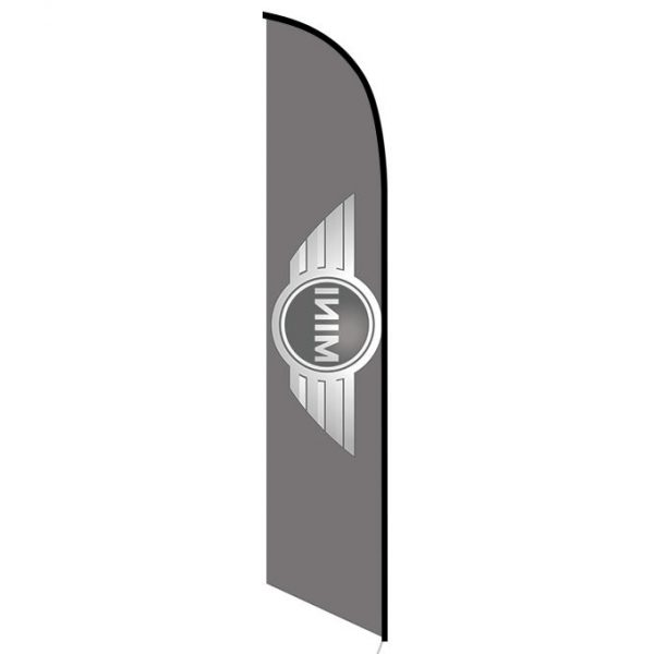 Mini cooper feather flag