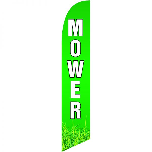 Mower Feather Flag