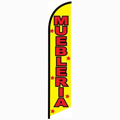 Muebleria feather flag