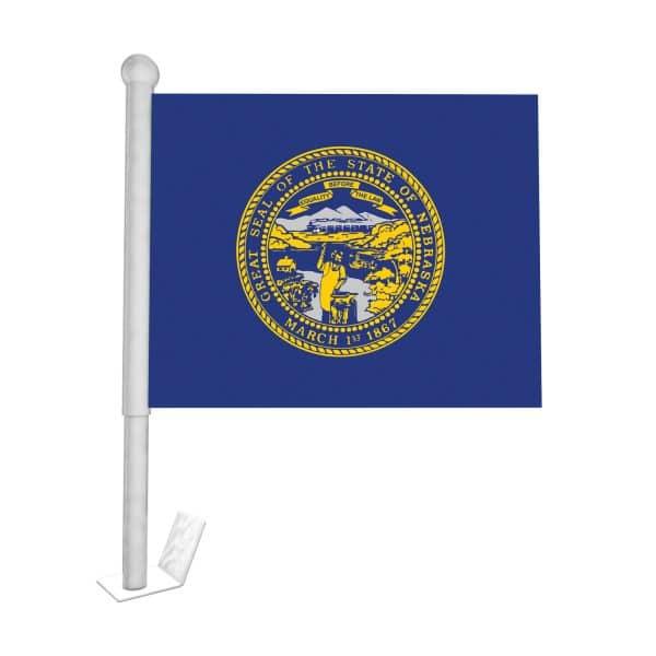 nebraska state car flag