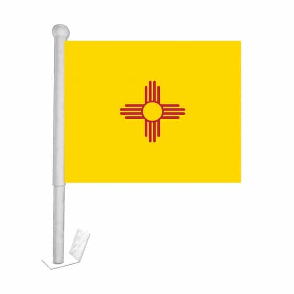 new mexico state car flag