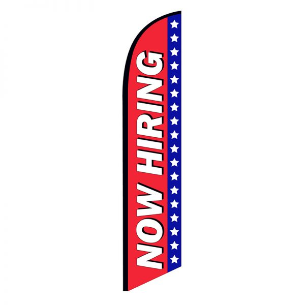 now hiring feather flag ffn-nsfb-5897