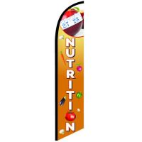 Nutrition Feather Flag