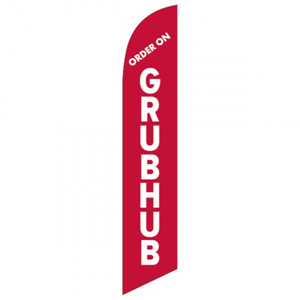 Order-on-Grubhub-Feather-Flag-FFN-99955