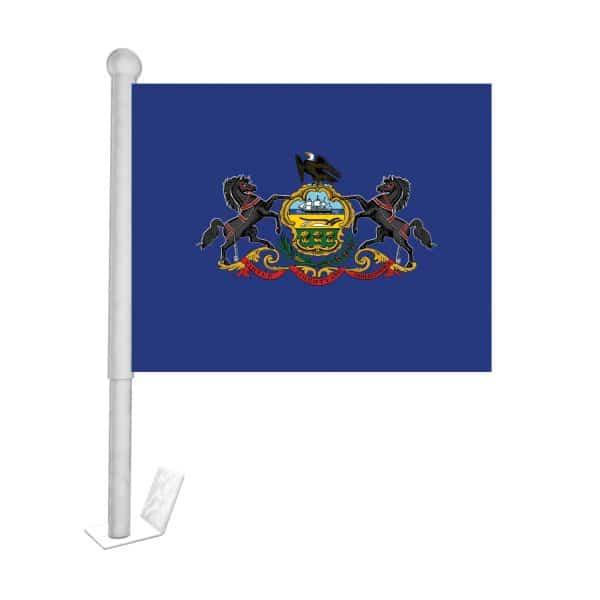 pennsylvania state car flag