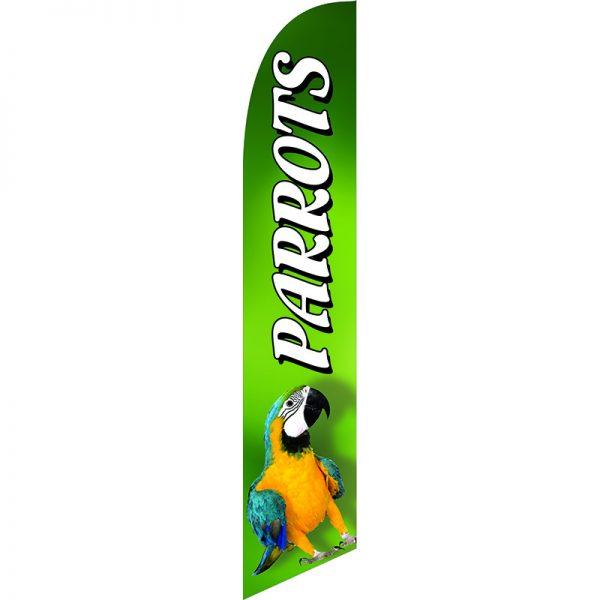 Parrots Feather Flag