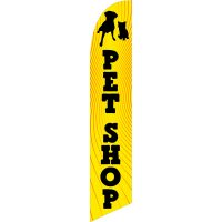 PetShop Feather Flag Kit with Ground Stake