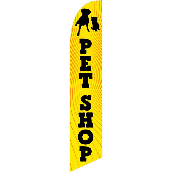 PetShop Feather Flag