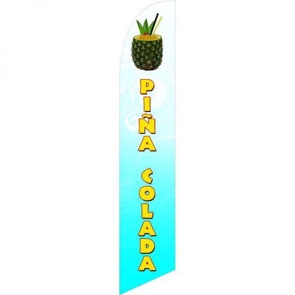 Pina Colada Feather Flag