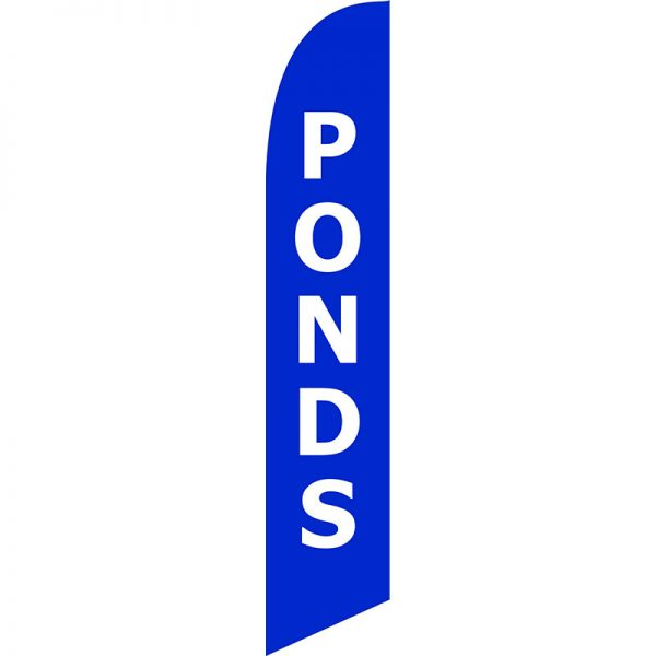 Ponds Feather Flag