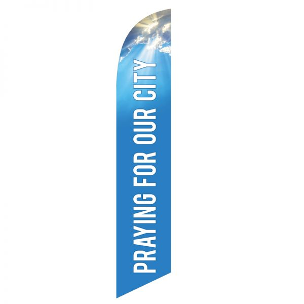 Praying-for-Our-City-Feather-Flag-FFN-99966