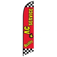 Quality AC Service Feather Flag