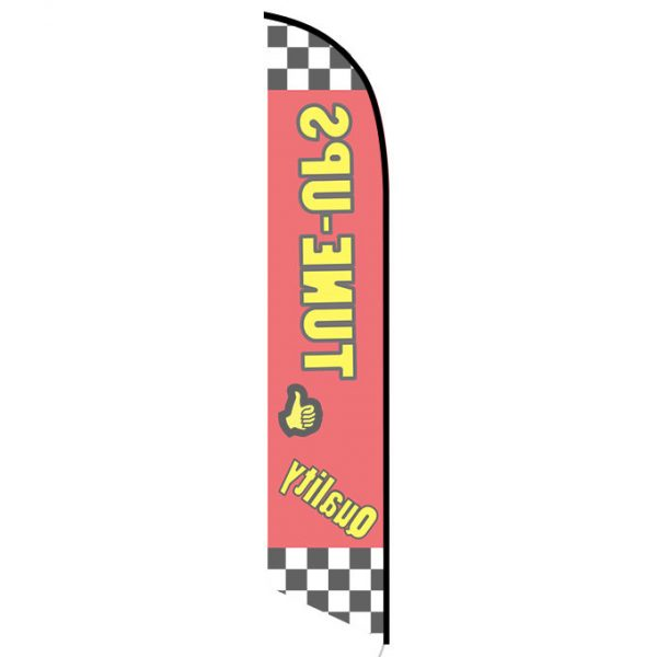 Quality Tune-ups Feather Flag FFN-5134 back