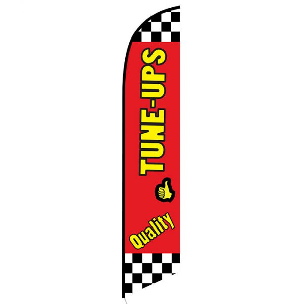 Quality Tune-ups Feather Flag FFN-5134 front