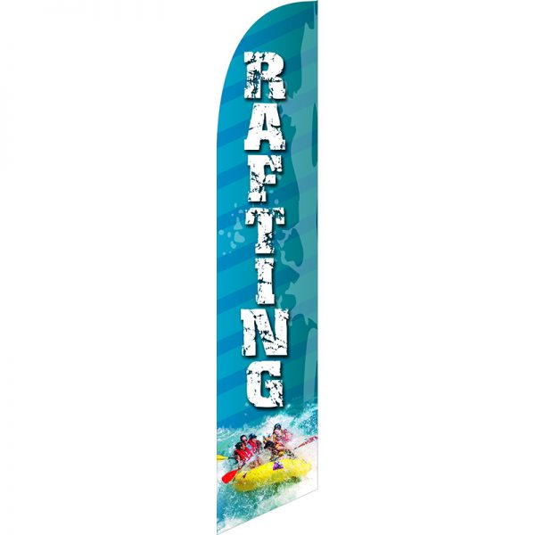 Rafting Feather Flag