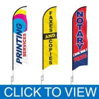 Sign and Printing Shop Flags