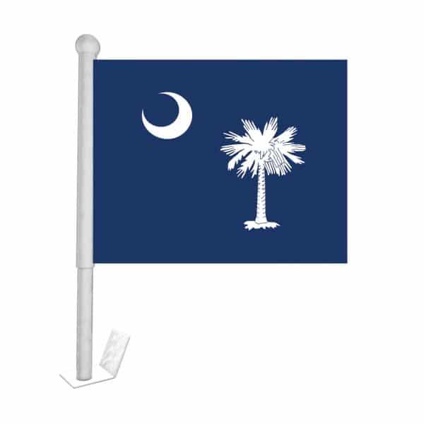 south carolina state car flag