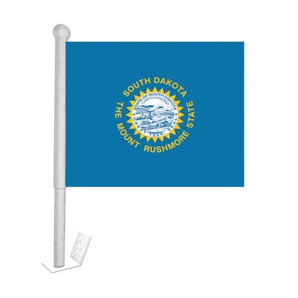 south dakota state car flag