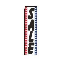 Sale patriotic rectangle flag