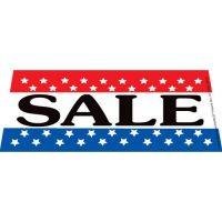 Sale Patriotic Windshield Banner