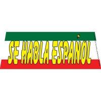 Se Habla Espanol Windshield Banner