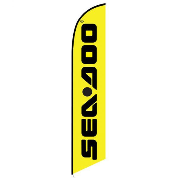 Sea-doo feather flag