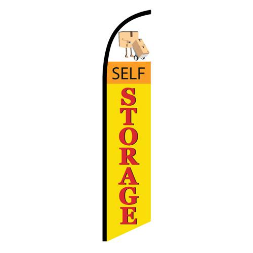Self Storage Feather Flag NSFB-5824