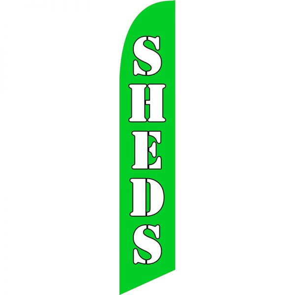 Sheds Feather Flag