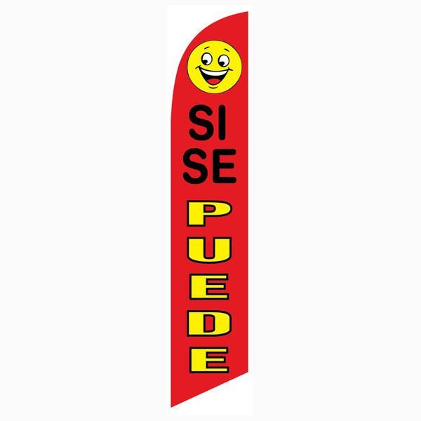 [DISCONTINUED] Si Se Puede banner flag