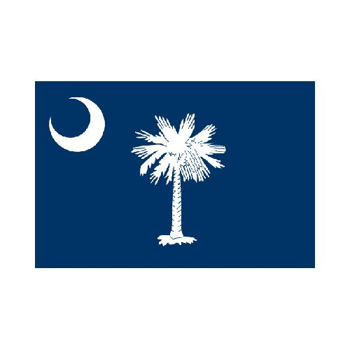 South Carolina State 3x5 flag