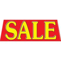 Sale Red windshield banner