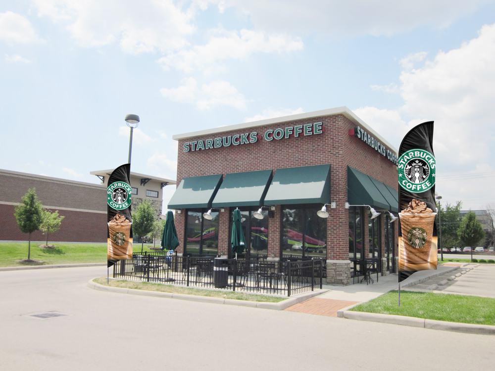 Starbucks Advertising Banners