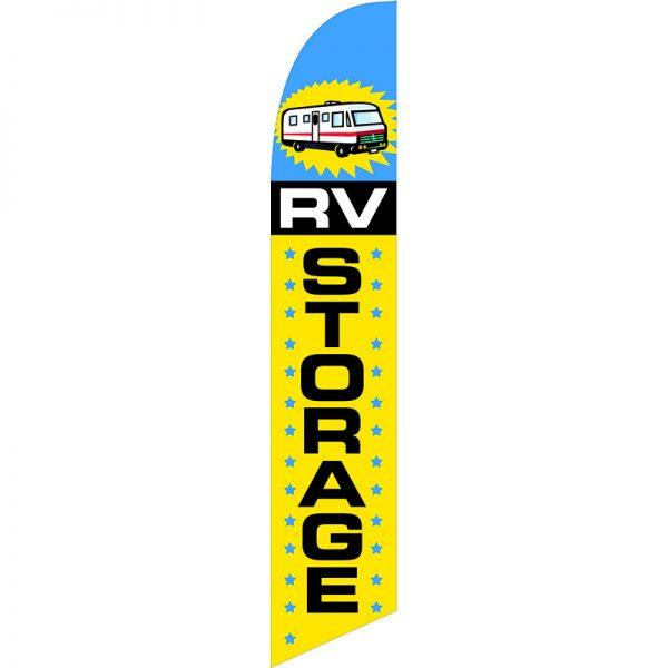 Storage RV Feather Flag