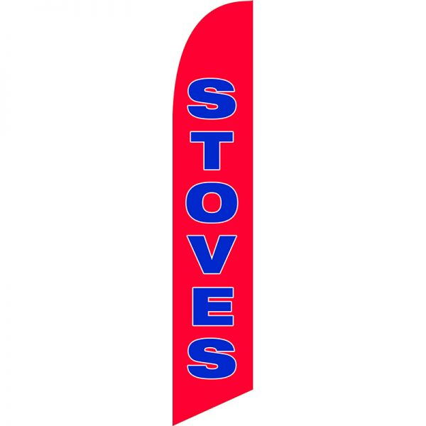Stoves Feather Flag