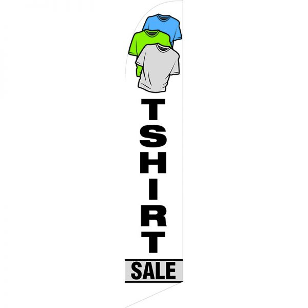 T-Shirt Sale Feather Flag