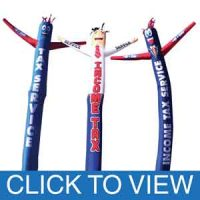 Tax Service Inflatable Tube Men | Air Powered Tube Dancers