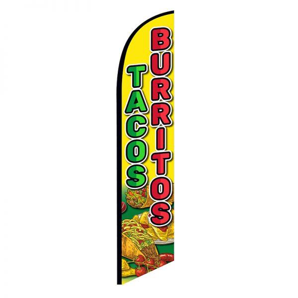 tacos burritos feather flag ffn-nsfb-5898