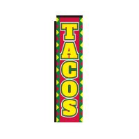 Tacos Rectangle Banner Flag
