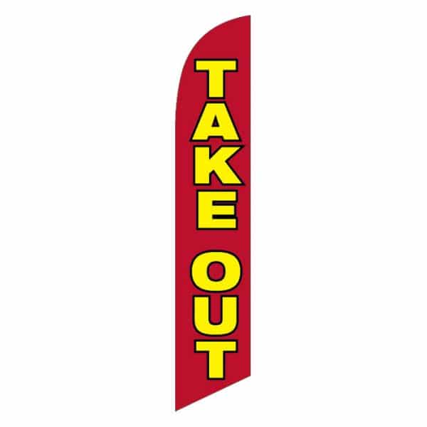Take-Out-Feather-Flag-Red