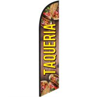 Taqueria feather flag