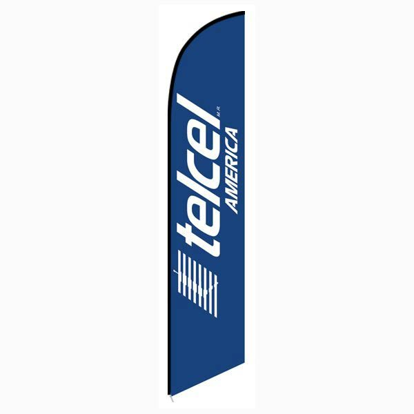 Telcel America Feather Flag