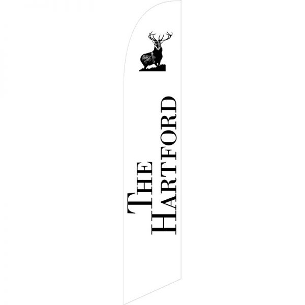 The Hartford Feather Flag