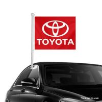 Toyota Window Clip-On Flag