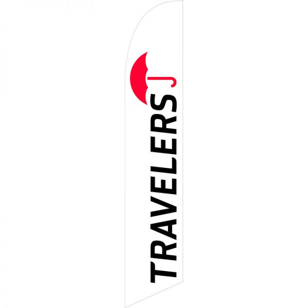 Travelers Feather Flag